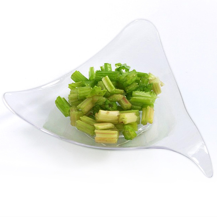 Gourmet Plastic triangle shape cup