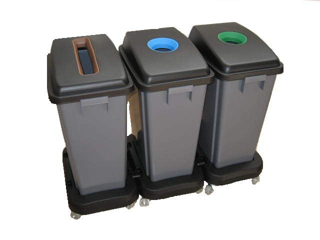 60 ltr. Recycle bins