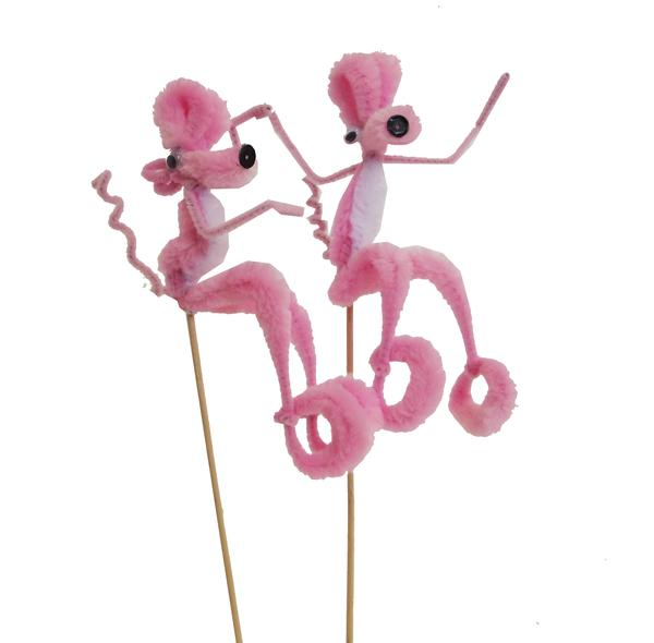 Chenille Pink Panther Pick