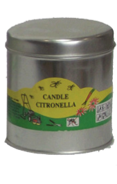 Small Tin Filled<p/>Candle Citronella