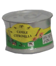 Tin Filled Candle Citronella