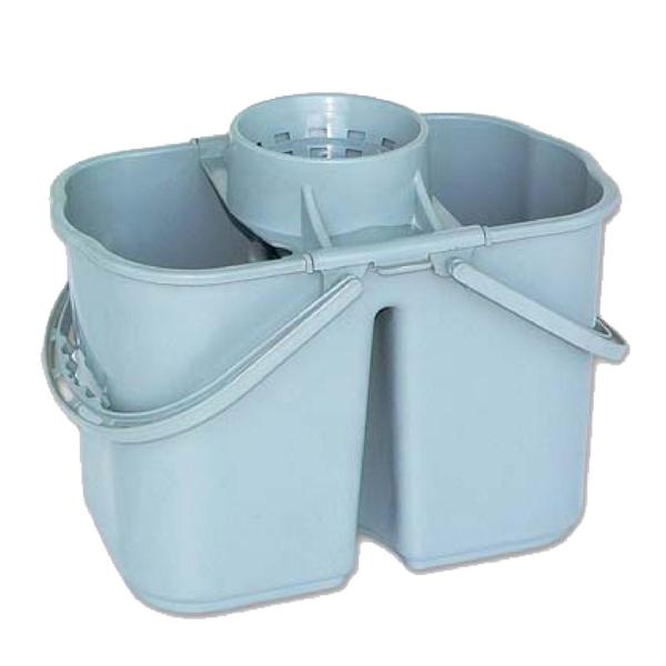 Twin compartment Mop Bucket