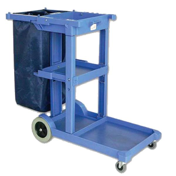 Multi use cleaning cart