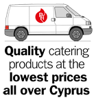 Quality catering products at the lowest prices all over Cyprus